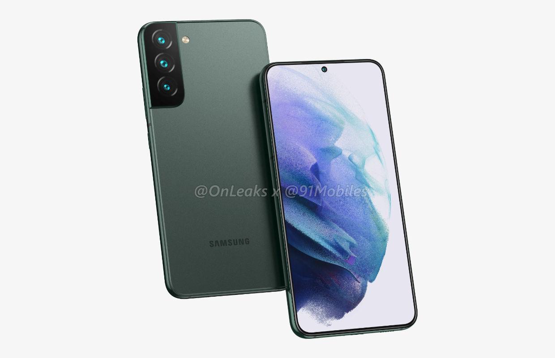 Samsung Galaxy S22 (Plus) lijkt volgens renders sterk op voorganger (Update)