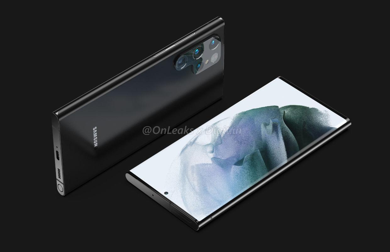 'Renders laten Samsung Galaxy 22 Ultra zien met Note-achtig ontwerp'