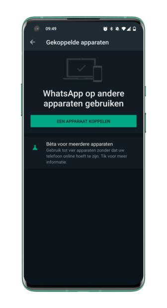 WhatsApp multi-device