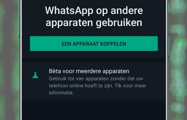 Tip: zo gebruik je WhatsApp op 5 apparaten tegelijk