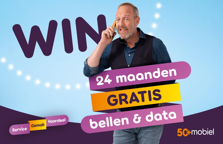 Exclusief bij Android Planet: kans op twee jaar gratis data en bellen van 50Plus Mobiel t.w.v. maximaal 360 euro (ADV)