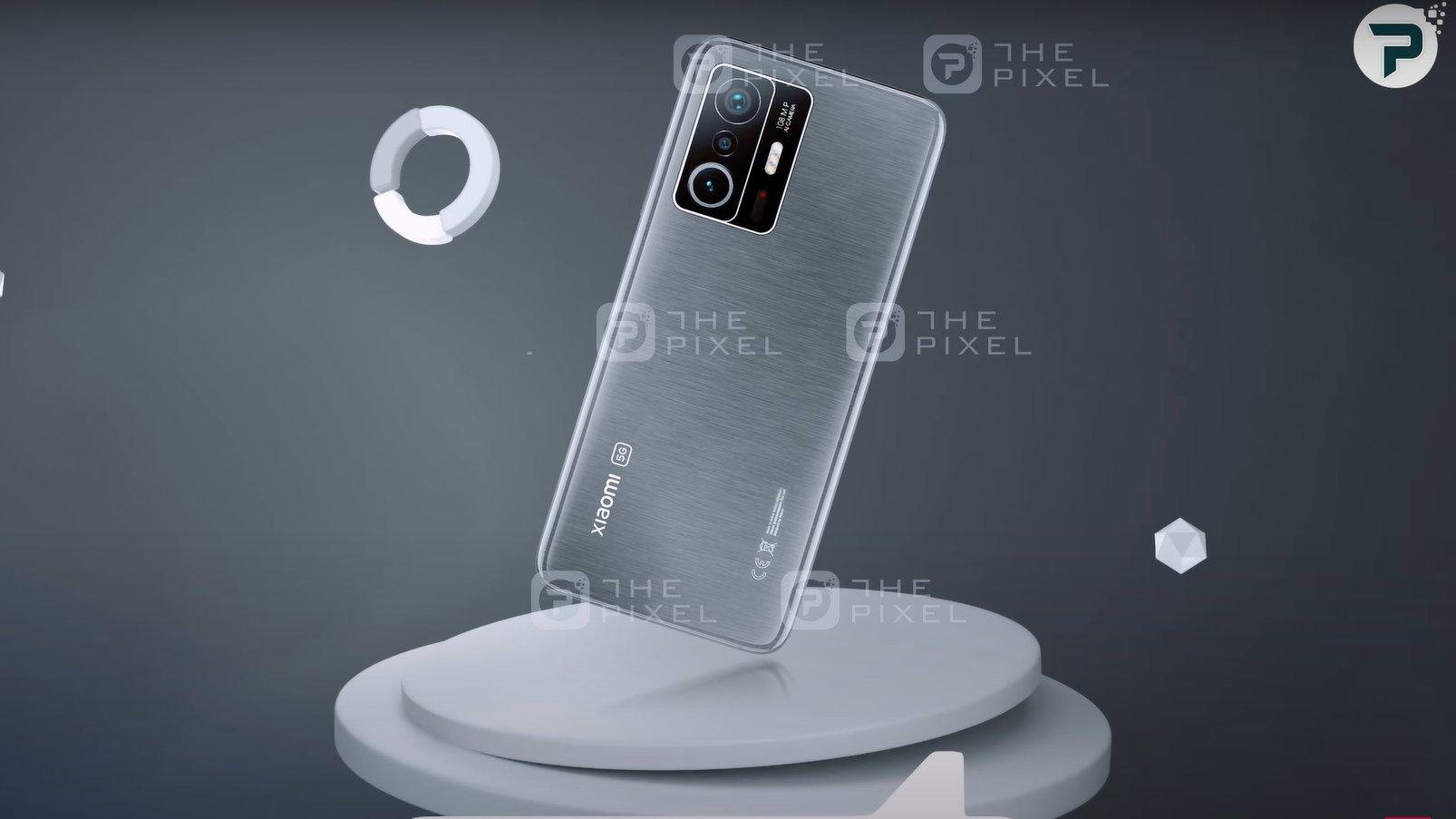 Gerucht: gelekte Xiaomi 11T Pro render verraadt premium ontwerp