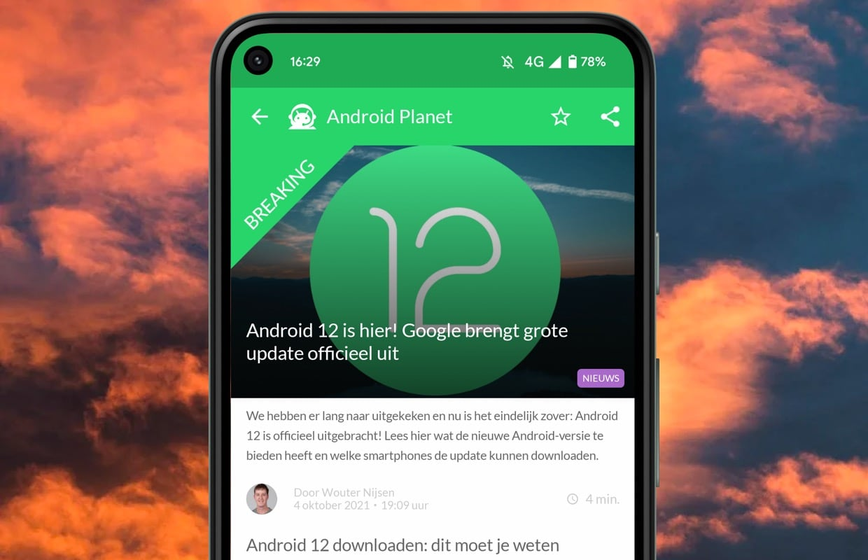 Het beste Android-nieuws: Android 12 release en Samsung S22 uitgesteld
