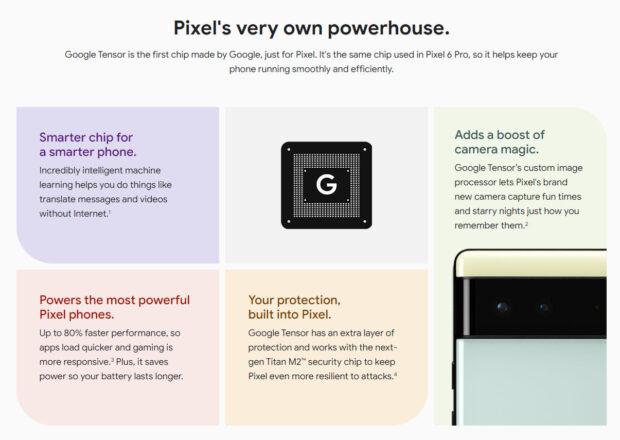 Google Pixel 6 updates