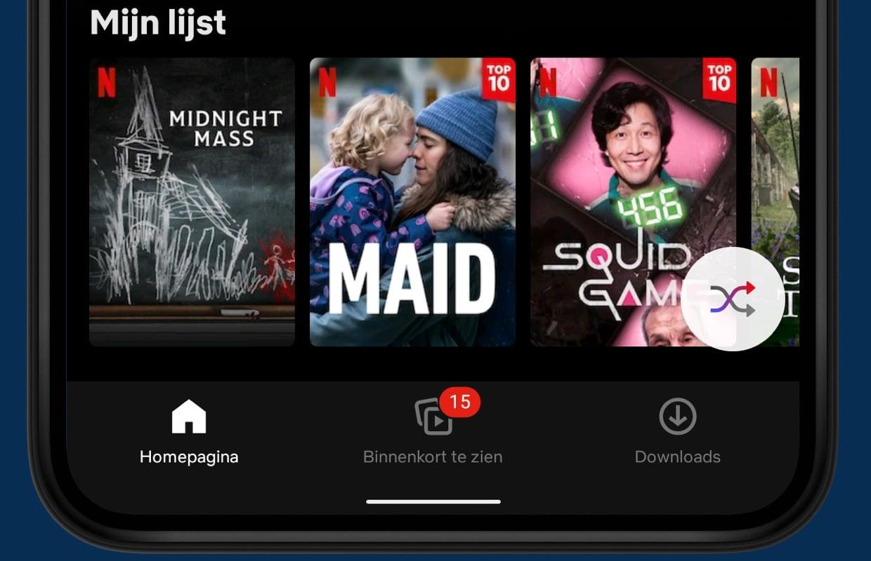 Weet je niet wat je wil kijken op Netflix? Zo werkt 'Iets afspelen'
