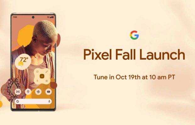 Google Pixel 6 evenement