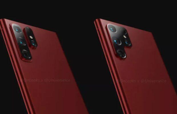 Samsung Galaxy S22 Geruchten Kamera S22 Ultra
