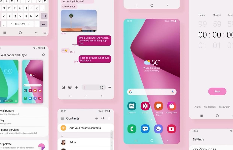 Zo ziet One UI 4, Samsungs versie van Android 12, eruit