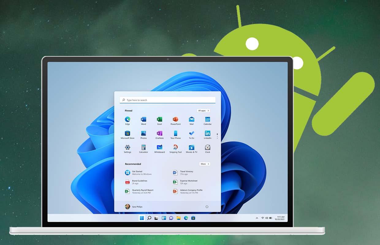 Nieuwe Windows 11-bèta ondersteunt het gebruik van Android-apps