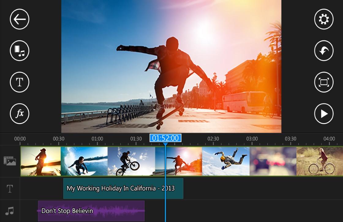 PowerDirector laat je 4K-video bewerken op je smartphone
