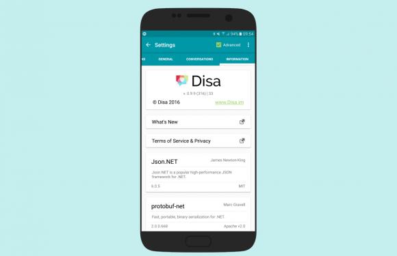 Disa: bundel WhatsApp, Telegram en andere berichtendiensten in één app