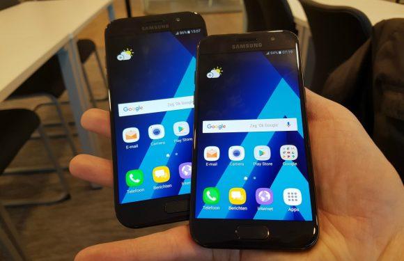 Samsung Galaxy A3 en A5 (2017) hands-on: stijlvolle smartphones met kleiner prijsje
