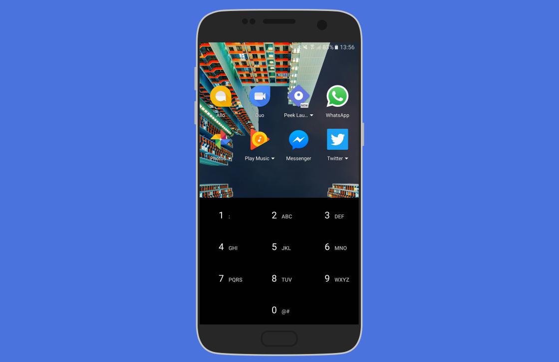 Peek Launcher biedt snelle toegang tot meestgebruikte apps met T9