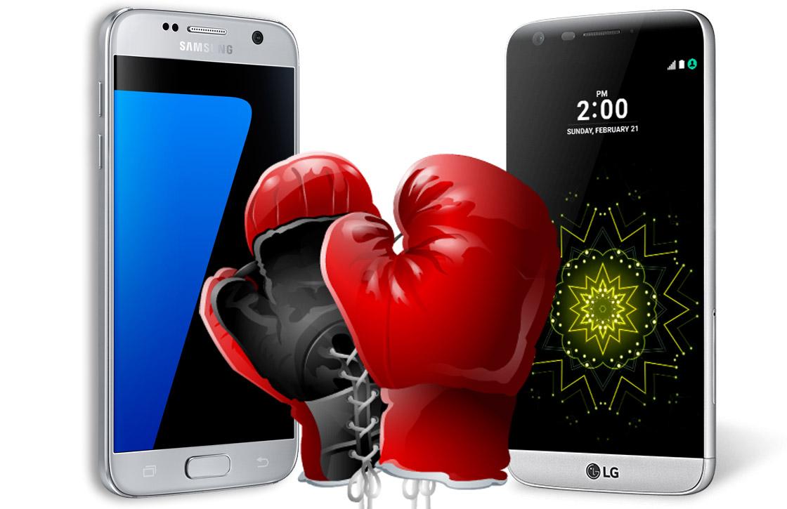 Samsung Galaxy S7 versus LG G5: toptoestellen vergeleken