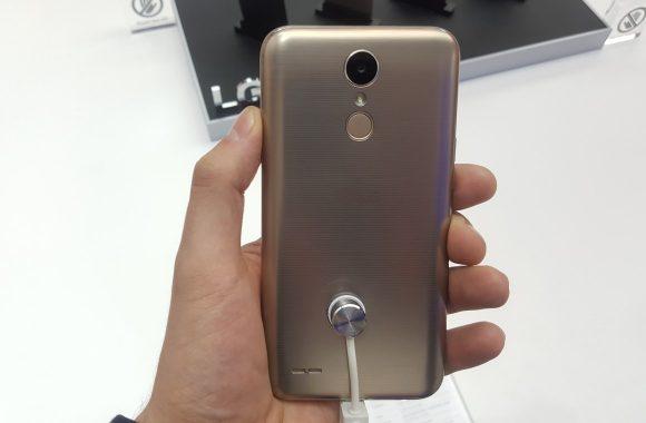 LG K10 (2017) vingerafdrukscanner