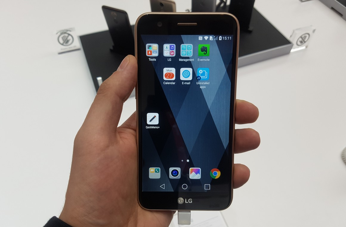 LG K10 (2017) preview