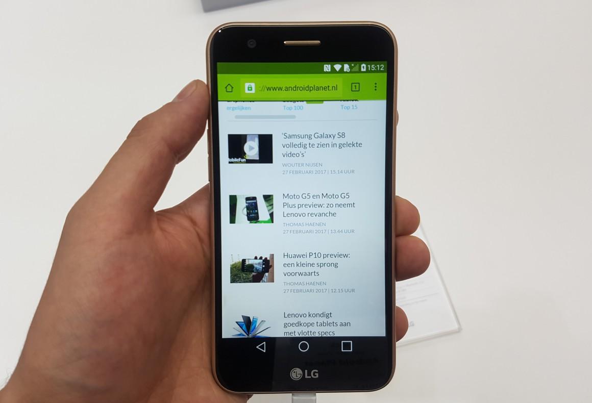 LG K10 (2017) preview: nuttige upgrade voor goedkope middenklasser