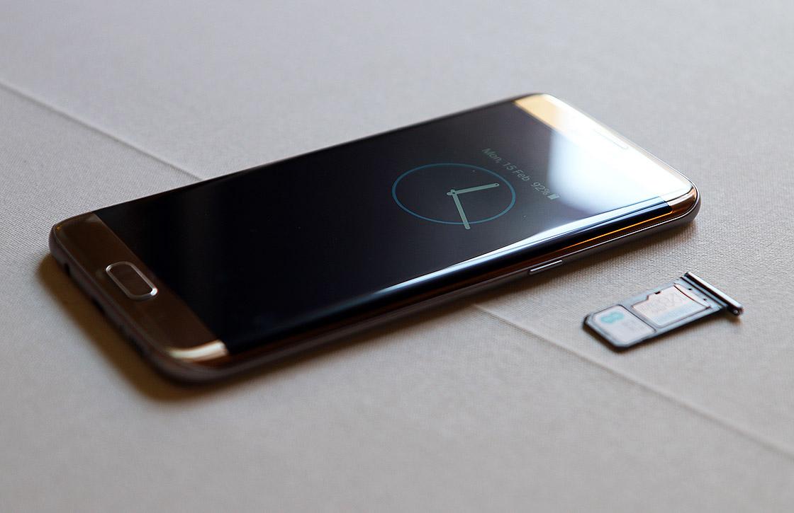 'Samsung Galaxy S8 heeft standaard gebogen scherm'