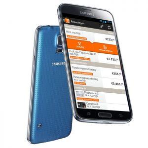 Galaxy S5 vingerafdrukscanner