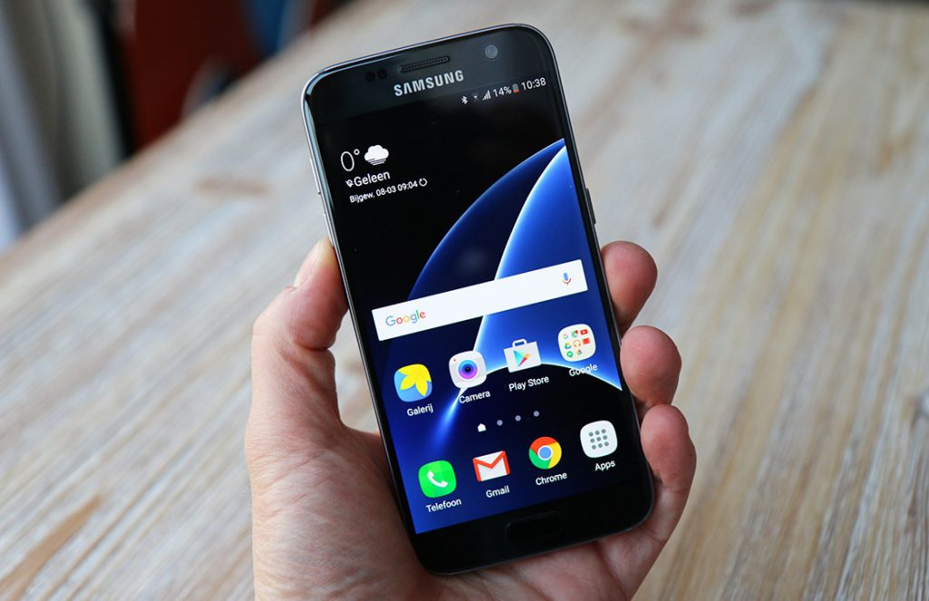 galaxy s7 review scherm