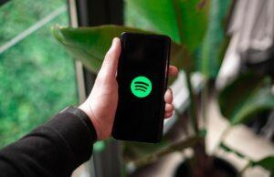 Reproducir archivos de audio Spotify