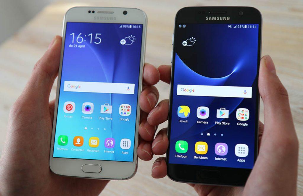 galaxy s7 vs galaxy s6