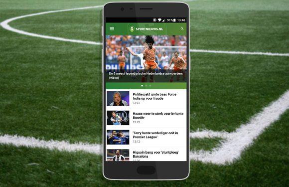 Blijf op de hoogte van het laatste sportnieuws met deze 5 sport-apps
