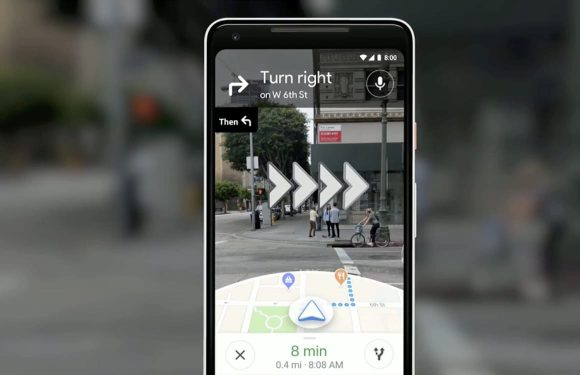 Zo werkt augmented reality-navigatie straks in Google Maps