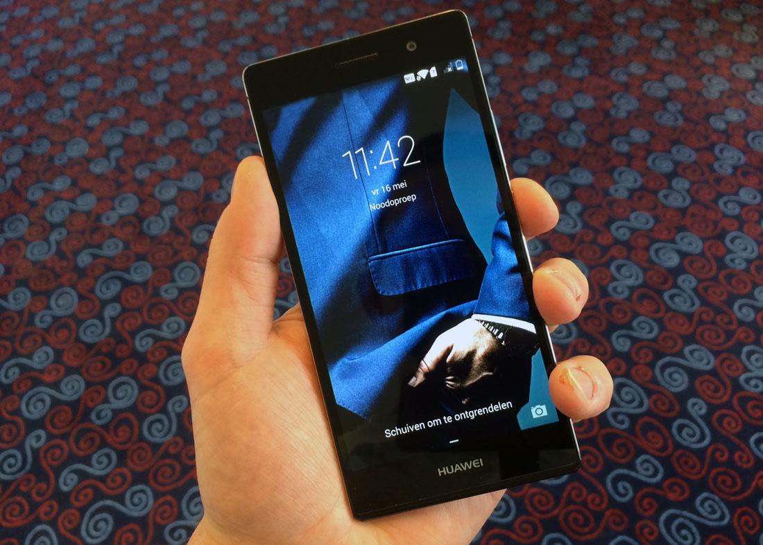 Huawei Ascend P7 Review: betaalbaar vlaggenschip kan prima meekomen
