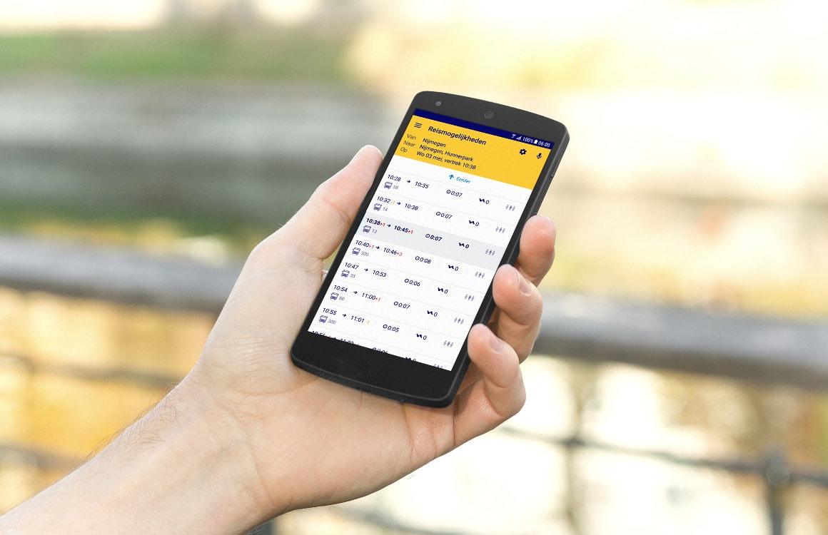 NS Reisplanner-app gaat je helpen met vinden van een zitplek