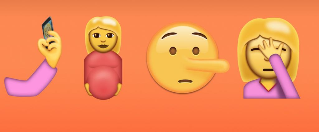 nieuwe Android emoji