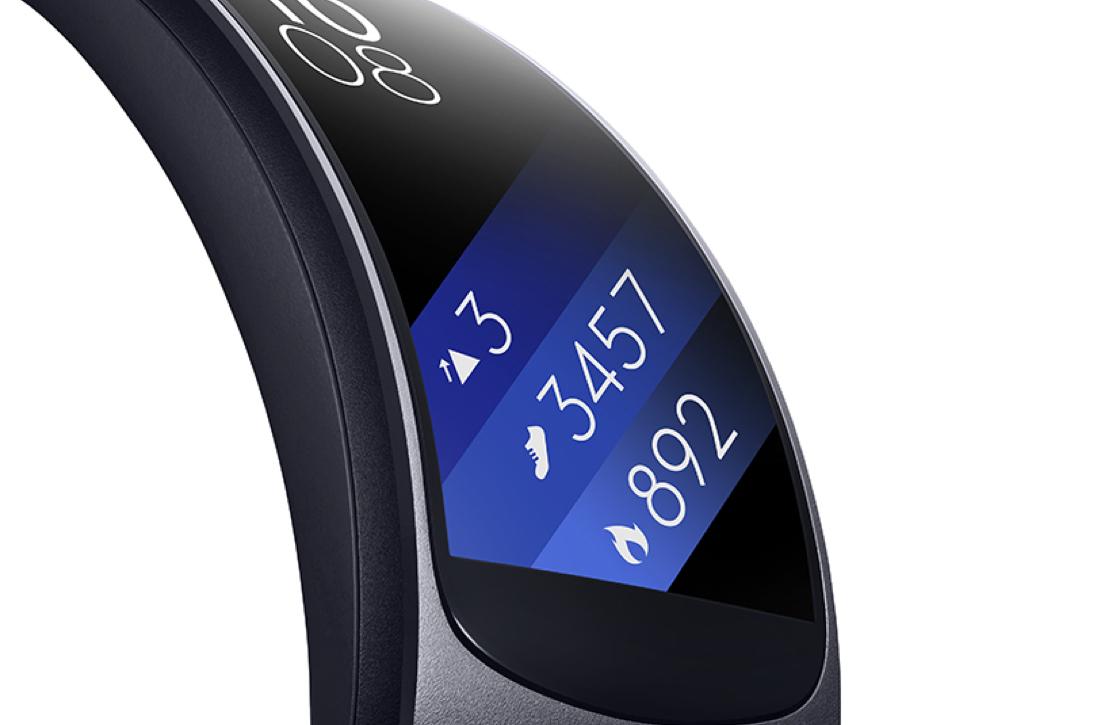 Samsung onthult de Gear Fit2 en IconX fitness wearables