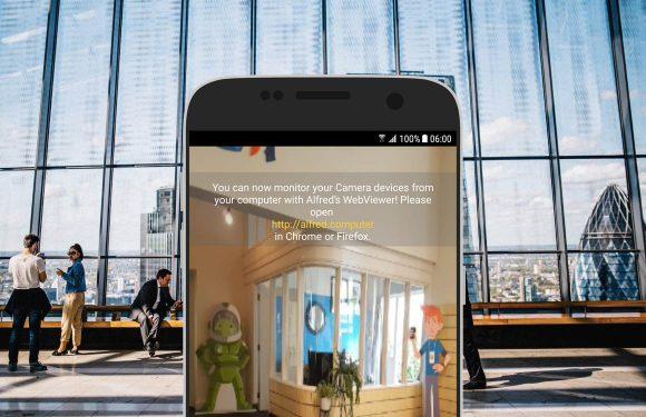 smartphone als beveiligingscamera