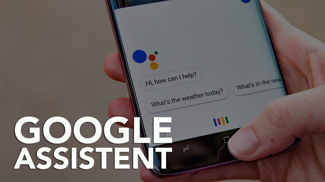 google assistent belangrijk