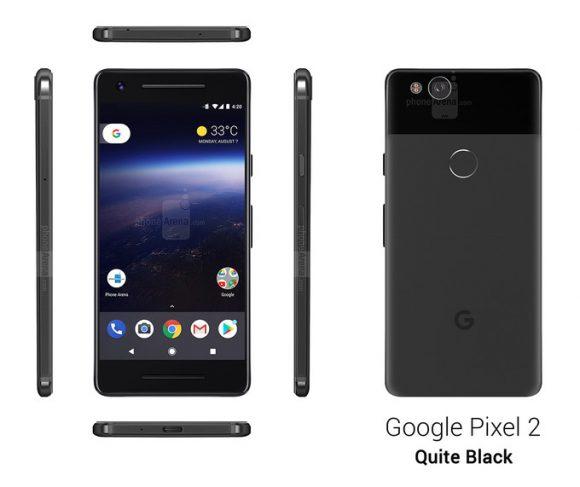 Google Pixel 2 afbeeldingen