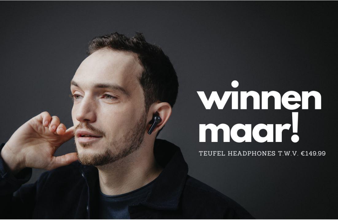 Winactie: winnaar Teufel Airy True Wireless-oordopjes bekend… (ADV)
