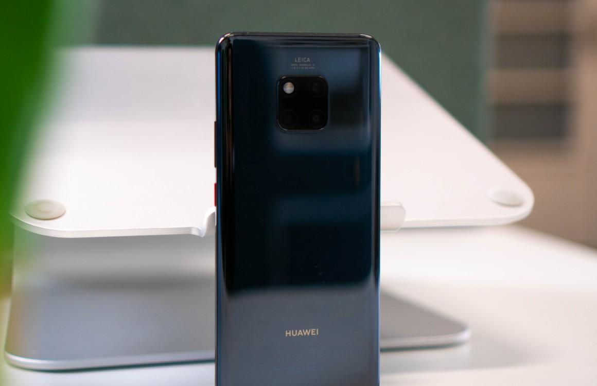'Huawei Mate 30 (Pro)-foto's tonen grote notch, waarschijnlijk voor gezichtsherkenning'