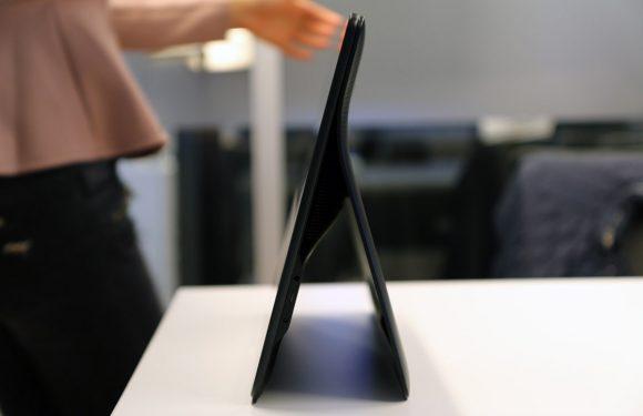 Eerste indruk: Galaxy View-tablet met gigantisch scherm
