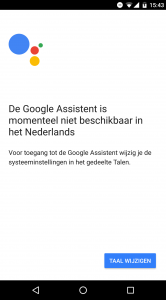 Google Home in Nederland