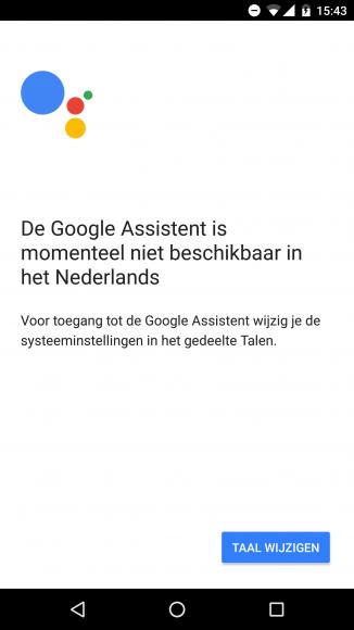 Google Home in Nederland