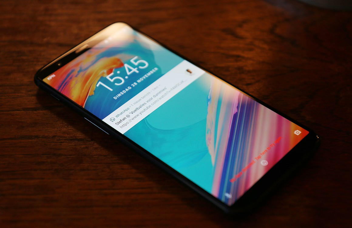 OnePlus 5T ondersteunt ook met Android 8.0-update geen hd-streams