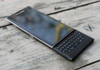 BlackBerry belooft: smartphones met fysieke toetsenborden in de maak