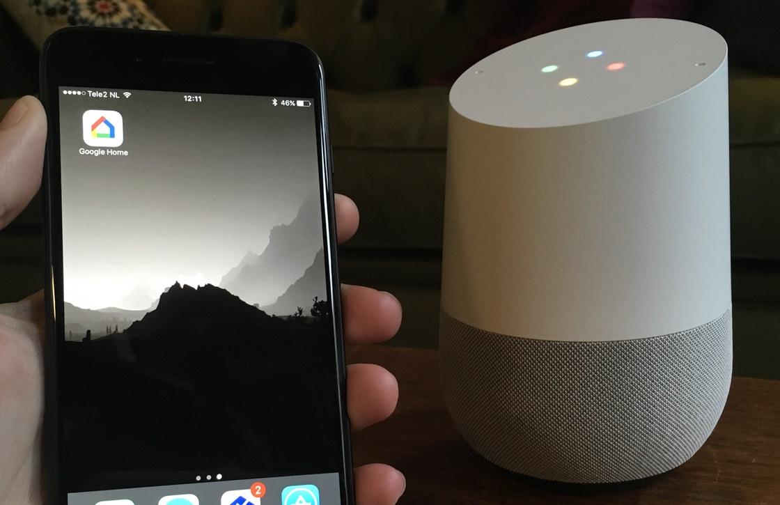 Google Home belfunctie
