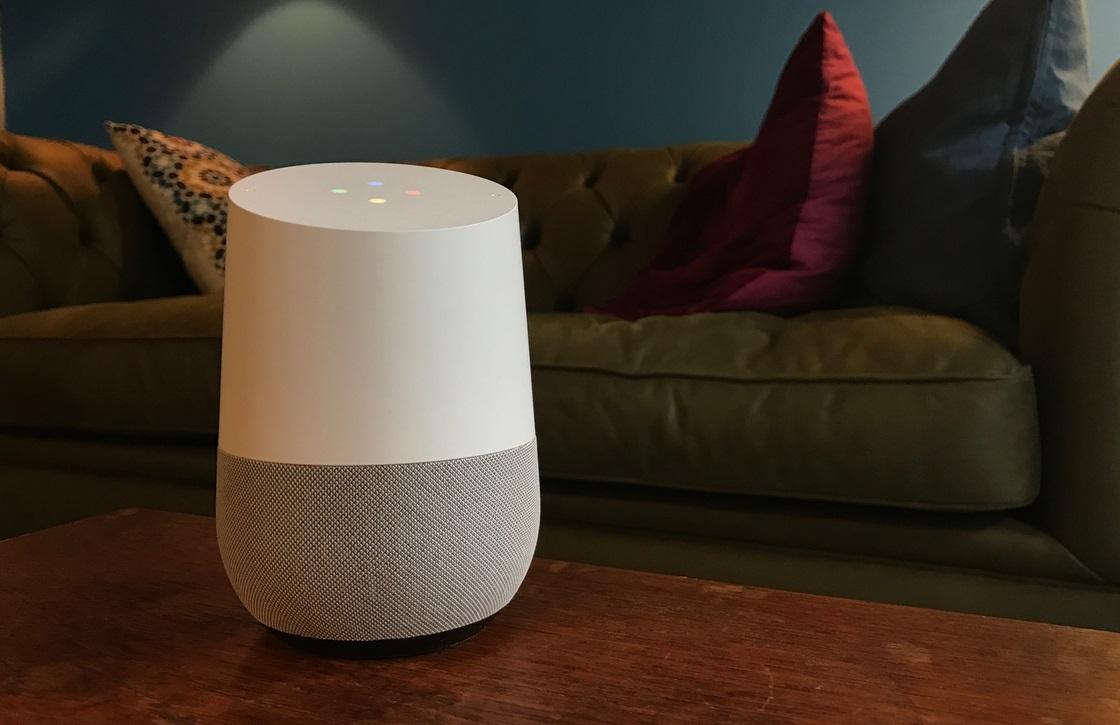 Google Home-speaker verschijnt voorlopig nog niet in Nederland