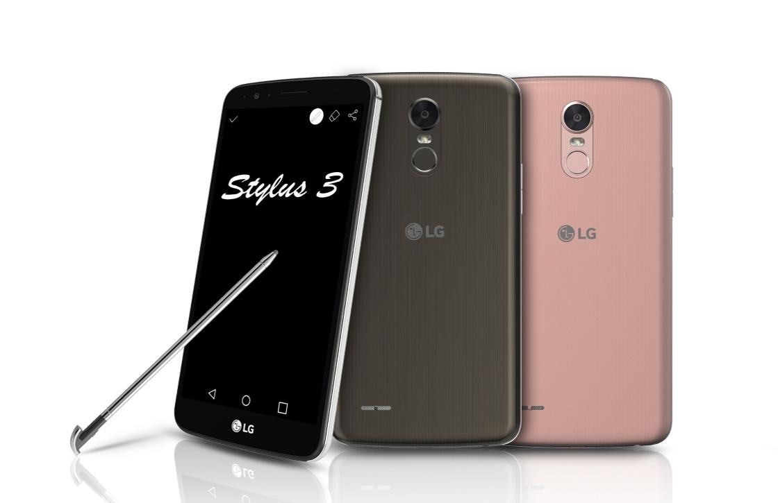 LG kondigt opvolgers LG K-serie en Stylus 3 aan